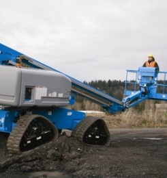 Telescopic Boom Lift Trax Series