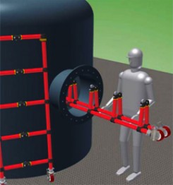 Glass Fibre Vessel Access System