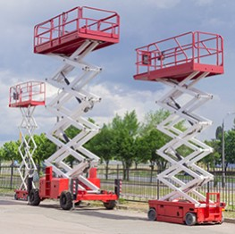 Hi Reach Scissor Lifts
